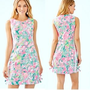 Lilly Pulitzer Mila Stretch Shift Hot on the scene
